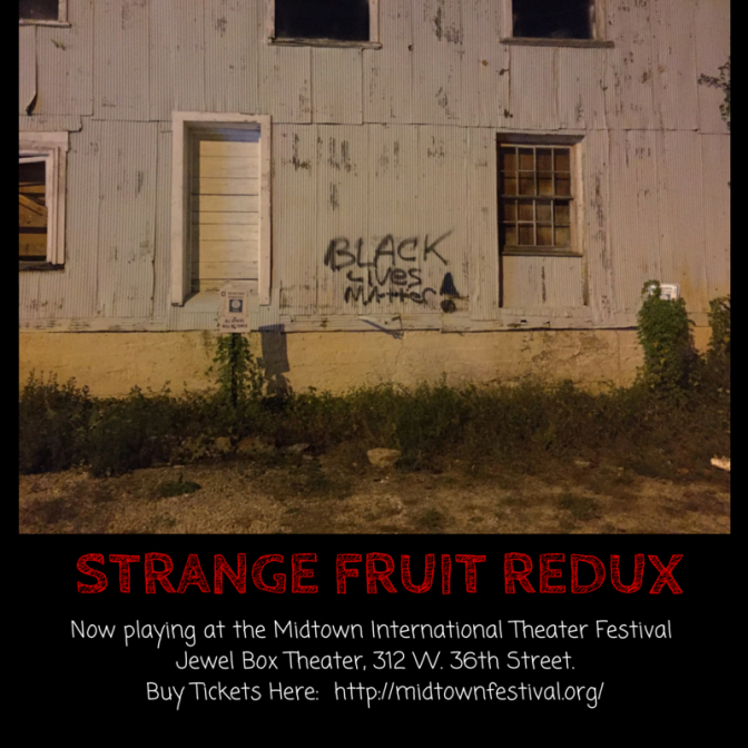 Strange Fruit Redux Poster